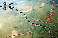 Вновь образованный земельный участок размер