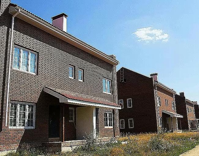 Зеленоградский поселок дуплексов