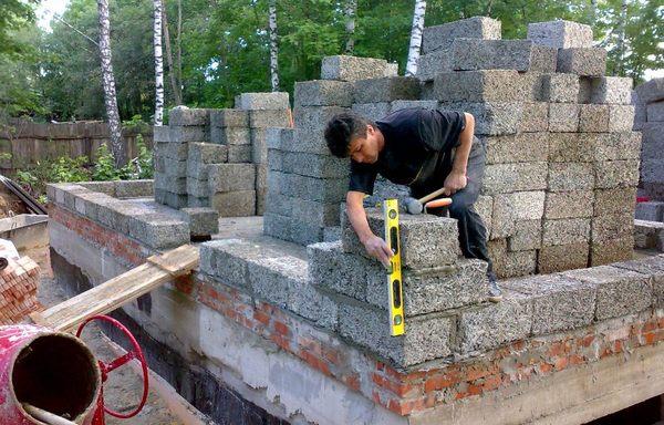 Стройка дома своими руками из блока