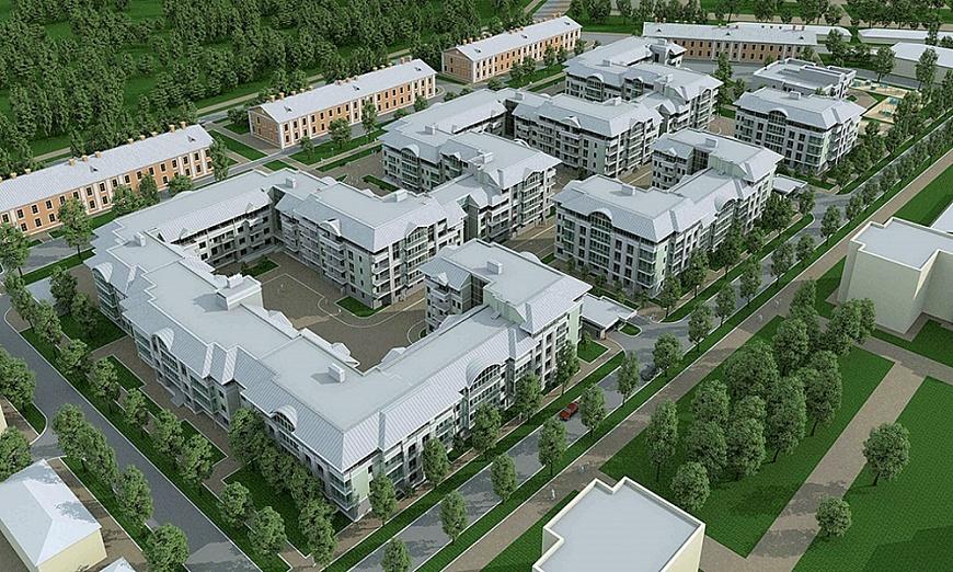 В новейшей столице России построят жилой квартал вевропейском стиле