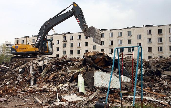 Последнюю ветхую пятиэтажку наюго-западе столицы снесут доконца года